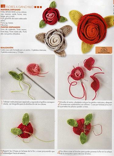 Patrones de crochet gratis (en español) - Simple Crochet