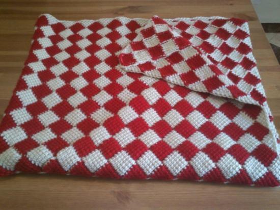 Cobijas tejidas con gancho tunecino imagui - Mantas a crochet ...
