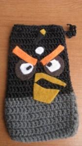fundas de crochet para el móvil 2