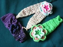 como tejer una diadema de crochet