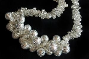 crochet con perlas