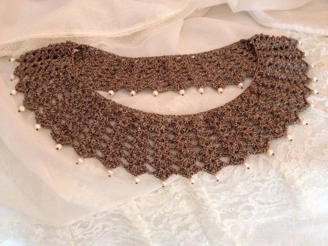 Crochet con perlas - Simple Crochet