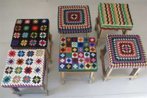 decorar con crochet
