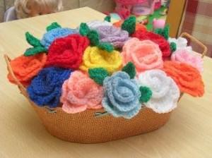 Flores de crochet 3