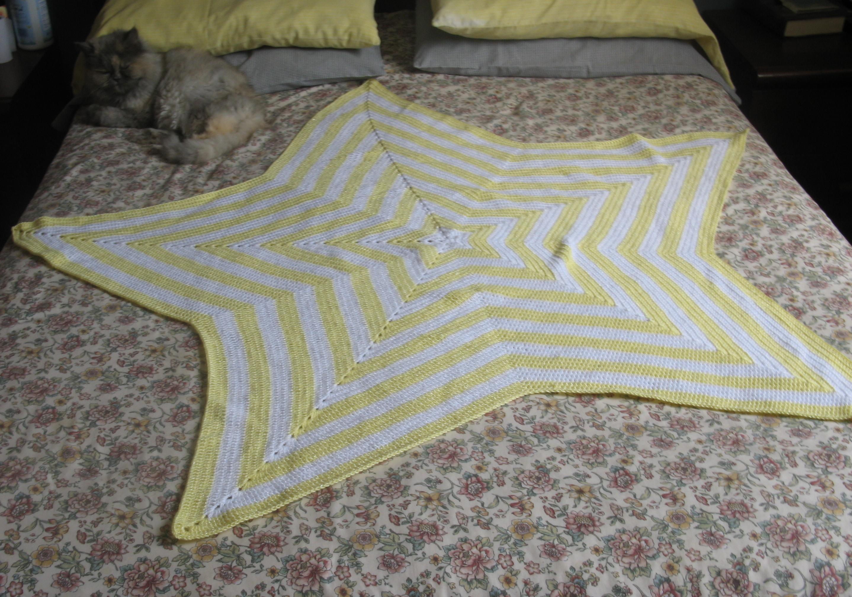 Mantas de crochet para bebé - Simple Crochet