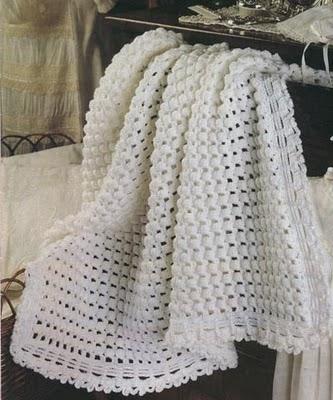 Mantas de crochet para bebé