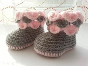 Botitas de crochet para bebé