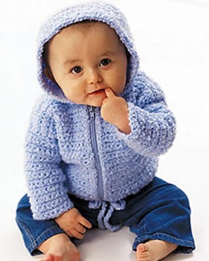 Jersey Con Capucha Para Bebé Paso a Paso Con Vídeo Tutorial