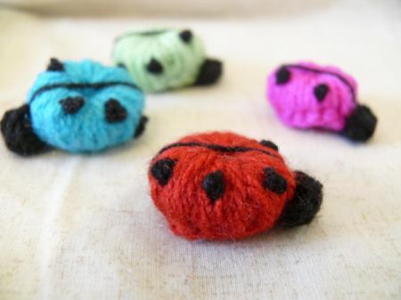 Mariquitas de crochet