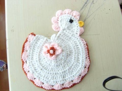 Agarrador de ollas de crochet