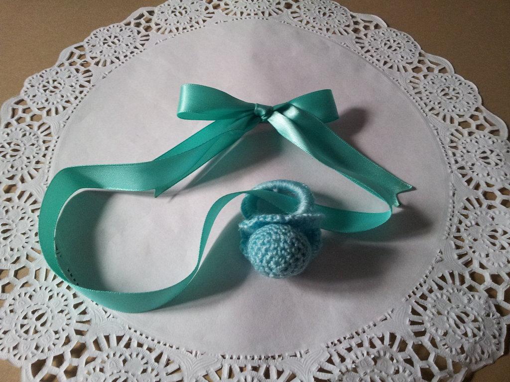 Chupón de crochet