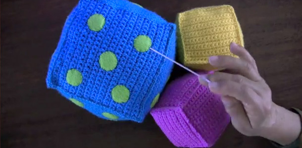 Cubos de crochet para niños - Simple Crochet
