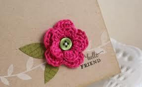 Más flores de crochet para ti