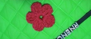 Flor Simple a Crochet