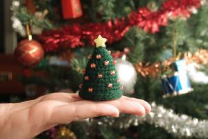 árbol de navidad a crochet