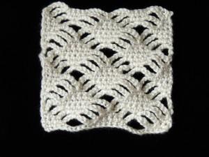 Diamantes apilados en Crochet