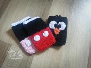 Funda para smartphone a crochet