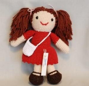 Vestido de muñeca amigurumi