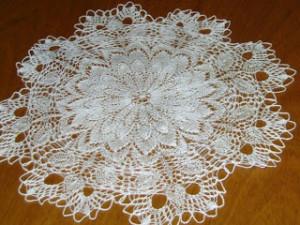 motivos florales con ganchillo a crochet