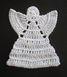 Cómo tejer un ángel a crochet