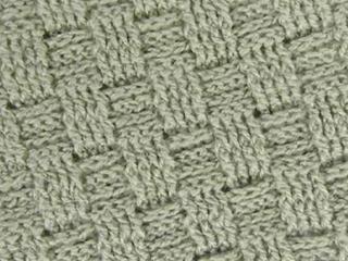 Punto cesta a crochet
