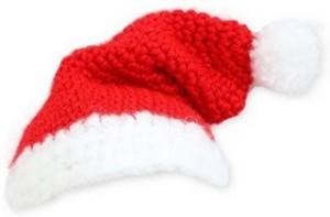 Cómo tejer gorro navideño