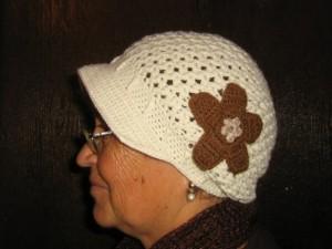 Gorro para adulto a crochet