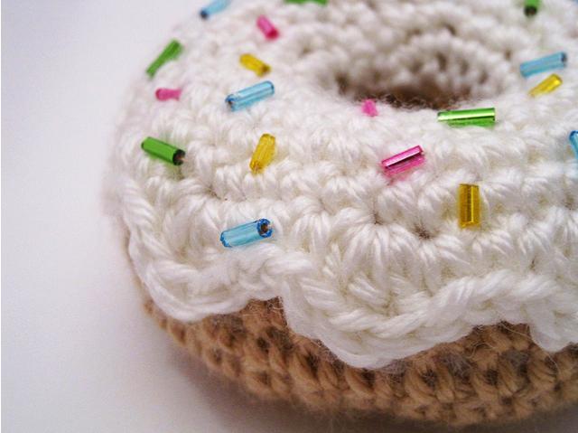 Donut tejidas a crochet