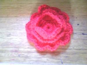 Flor de 3 capas de pétalos