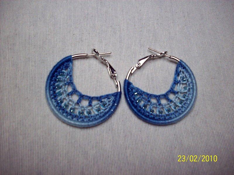 diseño de calidad 920e9 572c6 Pendientes de crochet paso a paso | Simple Crochet