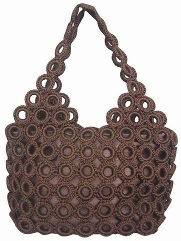 Bolsos De Crochet Simple Crochet