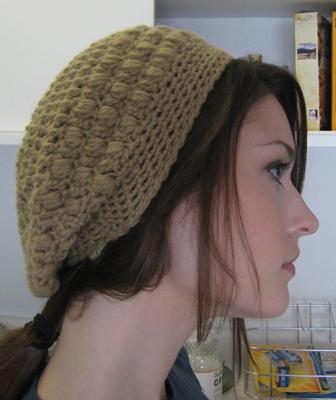 Boina de crochet  dfea93d6939