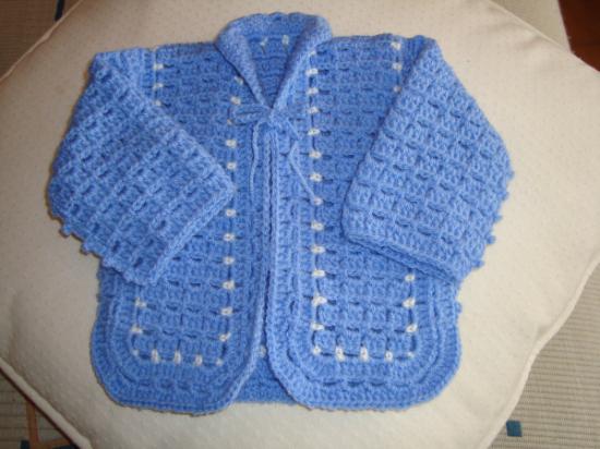 Chaqueta de crochet para bebé | Simple Crochet